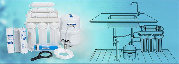Aparatul de purificare apei prin osmoza inversa-Purificator de apa complet aquabiz.ro